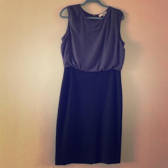LOFT Dresses & Skirts - LOFT Black and Gray Dress